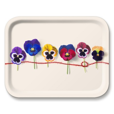 Michael Angove Knotted Pansy Medium Tray By Jamida