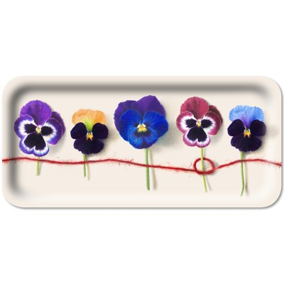 Michael Angove Knotted Pansy Slim Tray By Jamida