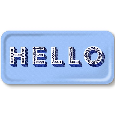 Asta Barrington Hello Slim Tray By Jamida