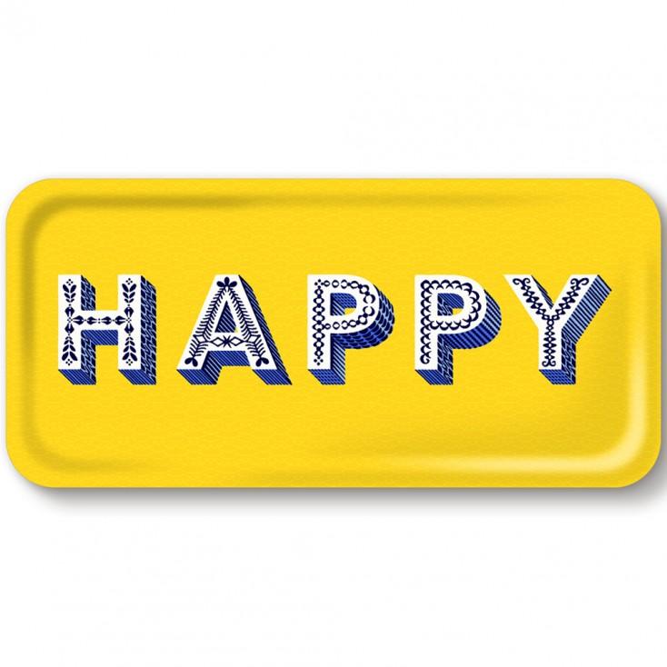 Asta Barrington Happy Slim Tray By Jamida