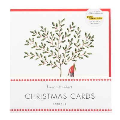 Laura Stoddart Christmas Scenes Christmas Card - Pack of 8