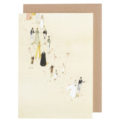 Laura Stoddart Greeting Card - Wedding