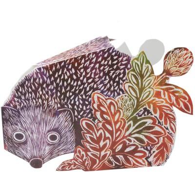 Judy Lumley 3D Hedgehog Card