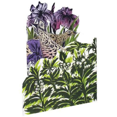 Judy Lumley 3D Corncrake Card