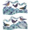 Judy Lumley 3D Berry Bird Card