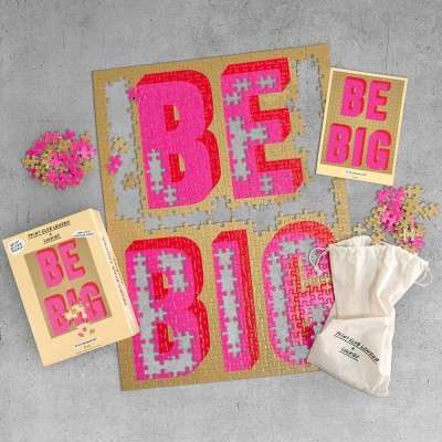 Be Big Artist Edition Puzzle – 500 pieces - Print Club London x Luckies