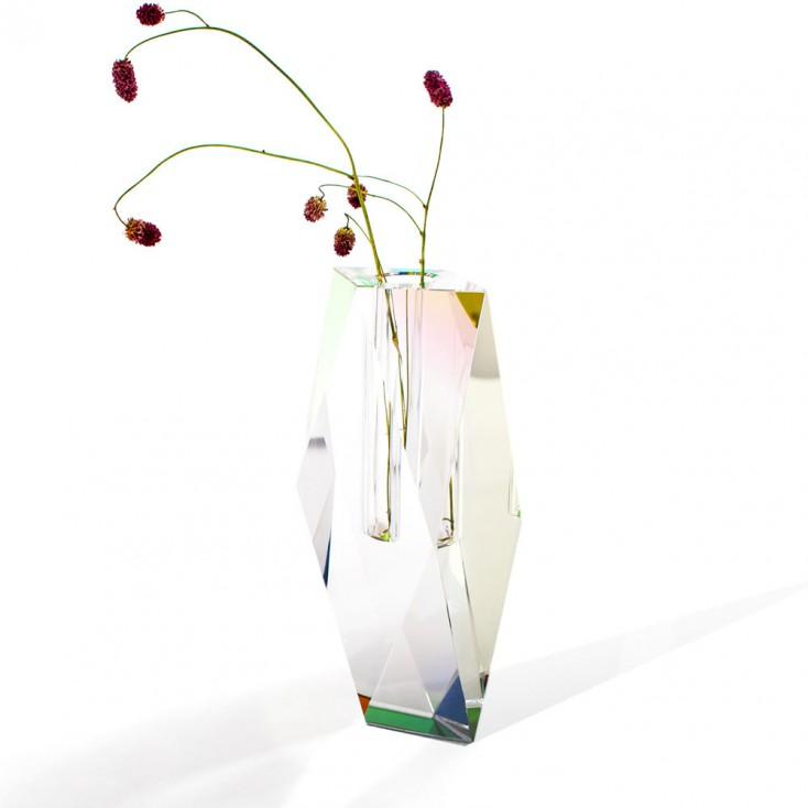 Fundamental Berlin Regenbogen Crystal Vase - Tall