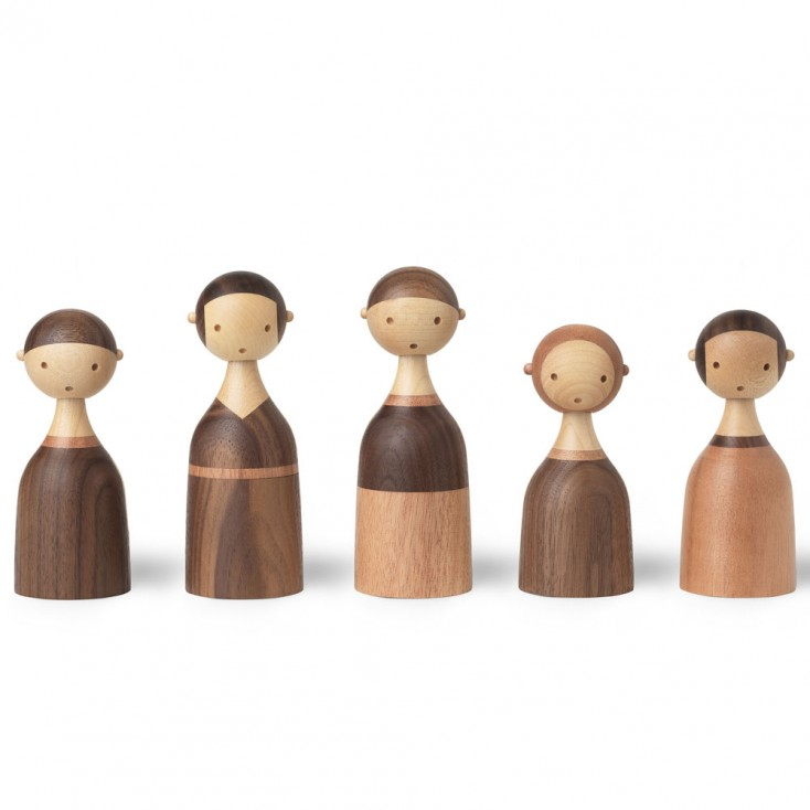 ArchitectMade Kin Wooden Family