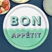 Asta Barrington Bon Appétit Round Tray By Jamida