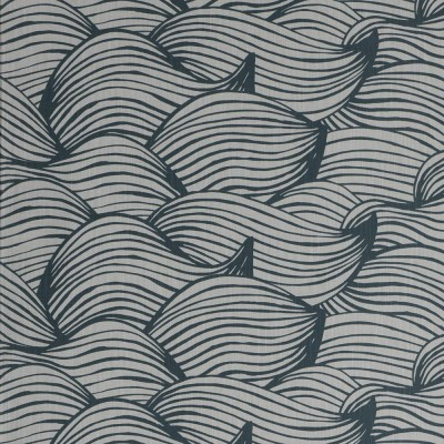 Scandinavian Fabric - Spira Wave Blue