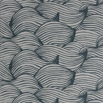 Scandinavian Fabric - Spira Wave Blue
