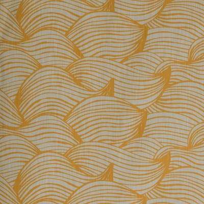 Scandinavian Fabric - Spira Wave Honey fabric