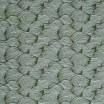 Scandinavian Fabric - Spira Wave Green Fabric Full 150cm Width