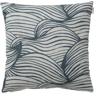 Spira of Sweden Wave Cushion Cover - Blue