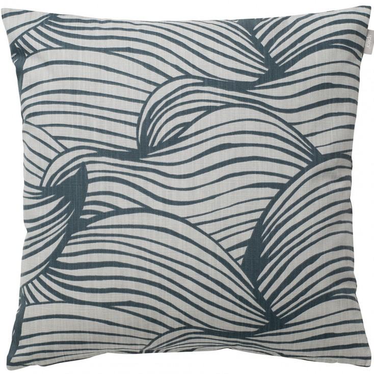 Spira of Sweden Wave Cushion Cover - Blue