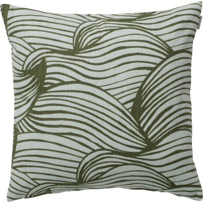 Spira of Sweden Wave Cushion Cover - Green