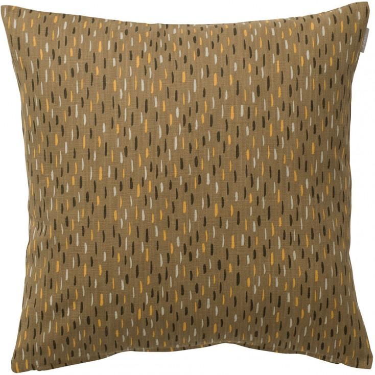 Spira of Sweden Art Cushion Cover - Brown