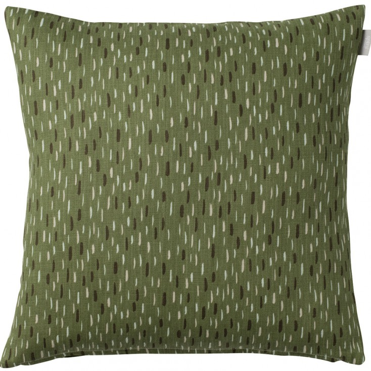 Spira of Sweden Art Cushion Cover - Green