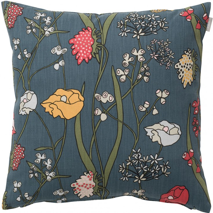 Spira of Sweden Äng Cushion Cover - Blue
