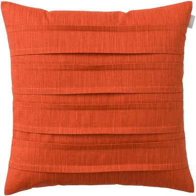 Spira of Sweden Pleat Cushion Cover - Terracotta