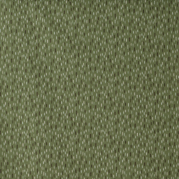 Scandinavian Fabric - Spira of Sweden Fabric Art Green
