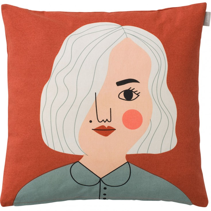 Spira of Sweden Face Cushion Cover - Nike