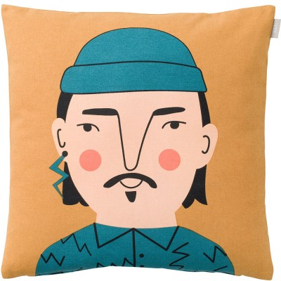 Spira of Sweden Face Cushion Cover - Johan
