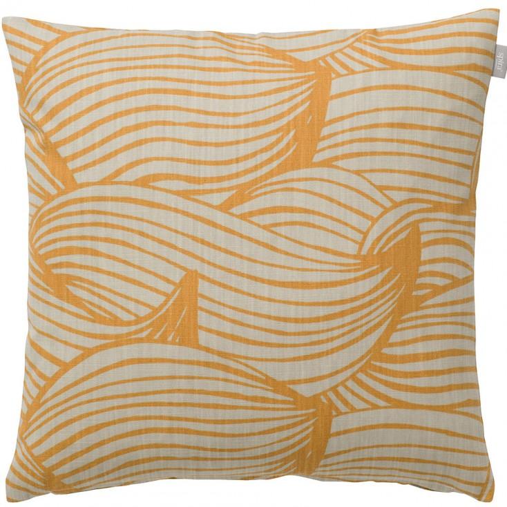 Spira Of Sweden Wave Cushion Cover - Honey