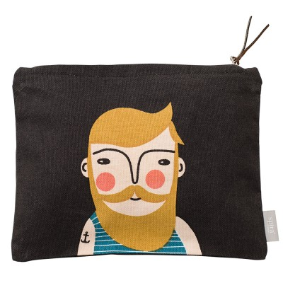 Spira of Sweden Frank Zipped Face Pouch