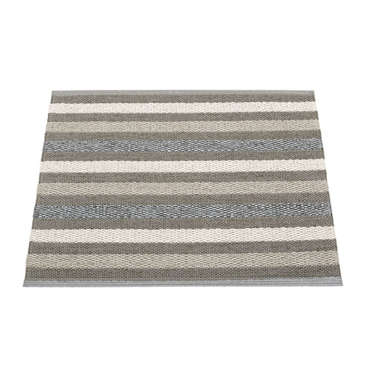 Pappelina Grace Small Mat - Charcoal