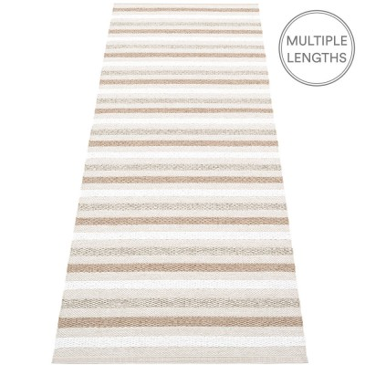 Pappelina Grace Runner - Fossil Grey - 70 x 200 cm