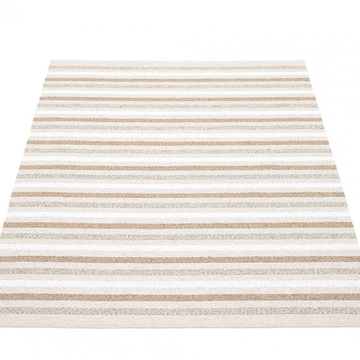 Pappelina Grace Large Rug - Fossil Grey - 140 x 200 cm