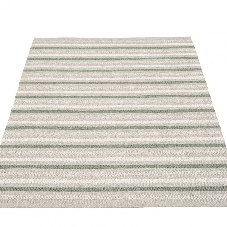 Pappelina Grace Large Rug - Warm Grey - 140 x 200 cm