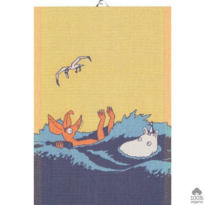 Ekelund Waves Moomin Kitchen Towel