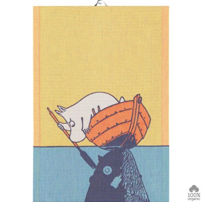 Ekelund Boat & Moomin Kitchen Towel