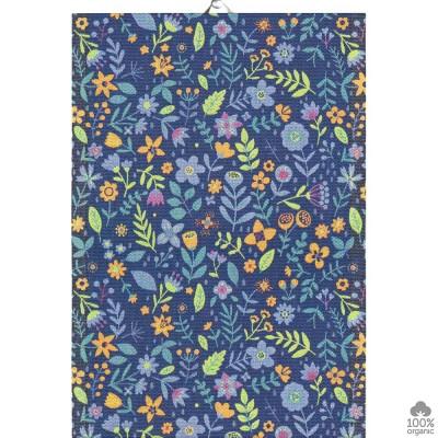 Ekelund Blue Meadow Kitchen Towel