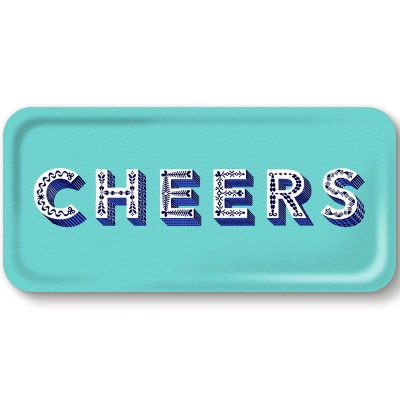Asta Barrington Cheers Slim Tray By Jamida