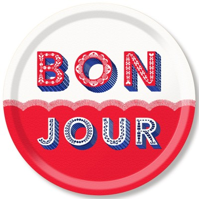 Asta Barrington Bonjour Round Tray By Jamida