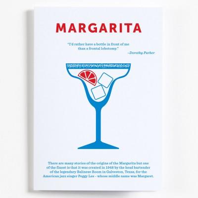 Crispin Finn Cocktail Greeting Card - Margarita