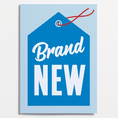 Crispin Finn Greeting Card - Brand New