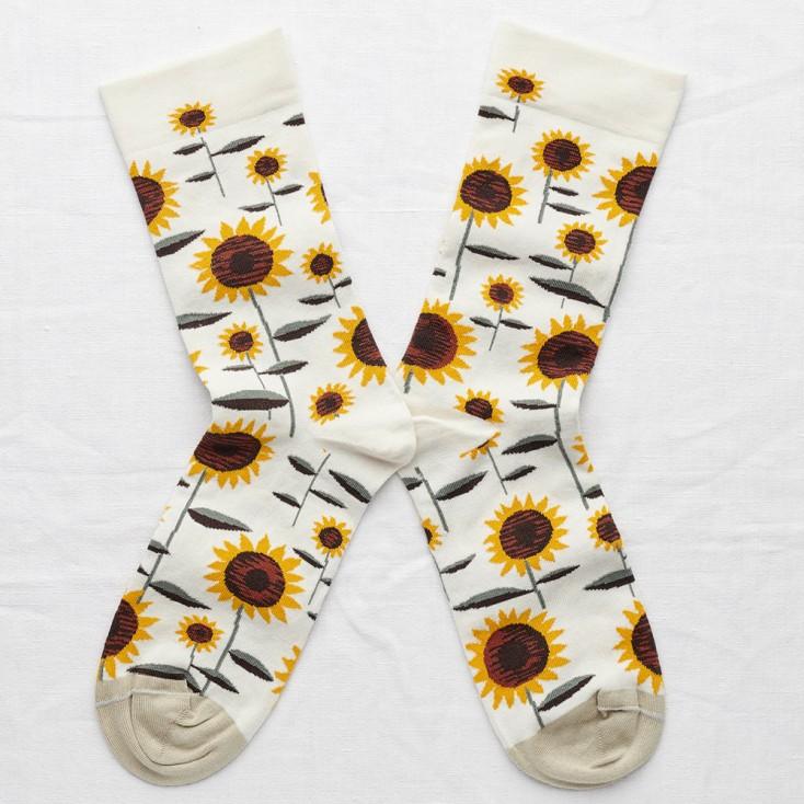 Bonne Maison Socks - Natural Sunflower