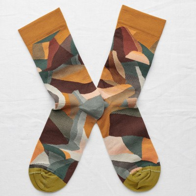Bonne Maison Socks - Multicolour Mountain