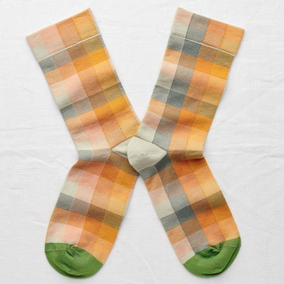 Bonne Maison Socks - Multicolour Check