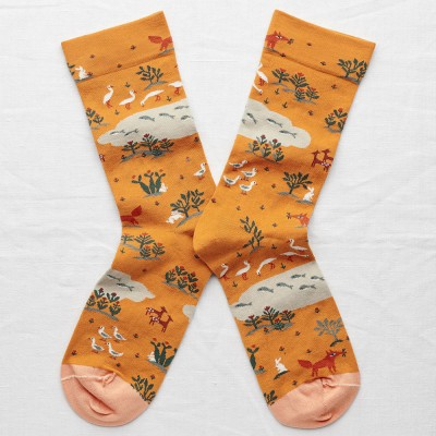 Bonne Maison Socks - Gold Fox