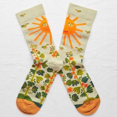 Bonne Maison Socks - Sage Sun