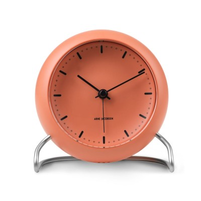 Rosendahl Arne Jacobsen City Hall Table Clock - Pale Orange