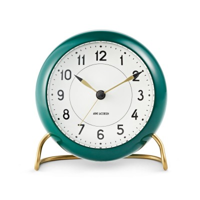 Rosendahl Arne Jacobsen Station Table Clock - Green