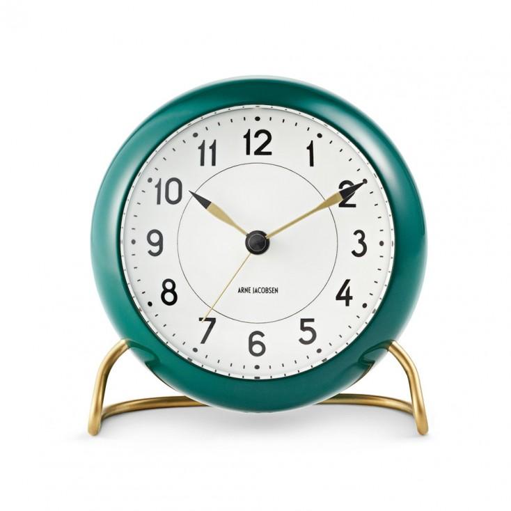 Rosendahl Arne Jacobsen Station Table Clock - Green