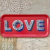 Asta Barrington Red Love Slim Tray By Jamida