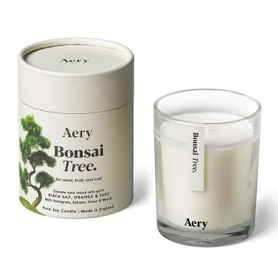 Aery Bonsai Tree Soy Wax Candle - Birch Sap Orange Yuzu